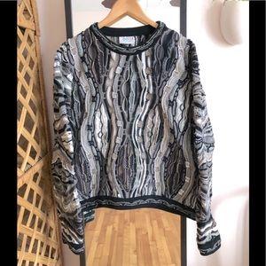 Vintage COOGI sweater Biggie Notorious BIG jumper